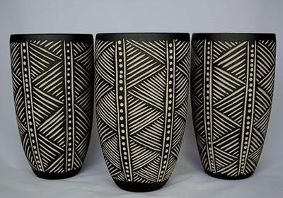 Sgraffito Box Highland Springs High School Ceramics